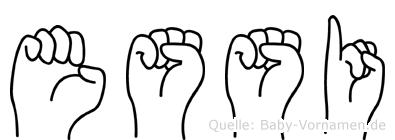 Essi in Fingersprache für Gehörlose