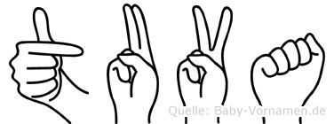 Tuva in Fingersprache für Gehörlose