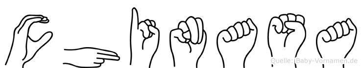 Chinasa in Fingersprache für Gehörlose