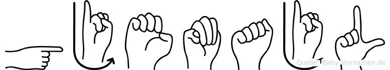 Gjemajl in Fingersprache für Gehörlose