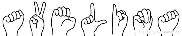 Avelina in Fingersprache für Gehörlose
