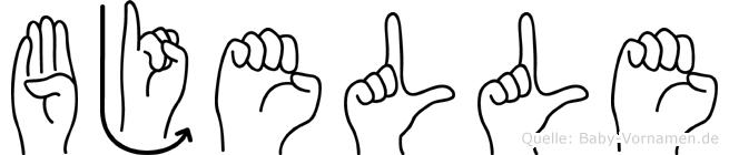 Bjelle in Fingersprache für Gehörlose