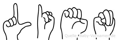 Lien in Fingersprache für Gehörlose