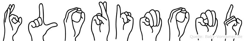 Florimond in Fingersprache für Gehörlose