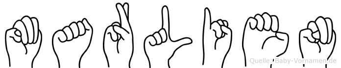 Marlien in Fingersprache für Gehörlose