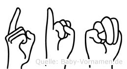 Din in Fingersprache für Gehörlose