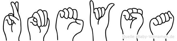 Rümeysa im Fingeralphabet der Deutschen Gebärdensprache