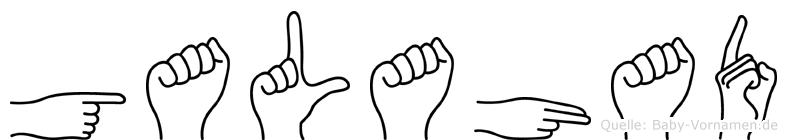 Galahad in Fingersprache für Gehörlose