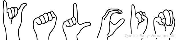 Yalcin im Fingeralphabet der Deutschen Gebärdensprache