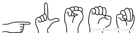 Gülsen in Fingersprache für Gehörlose