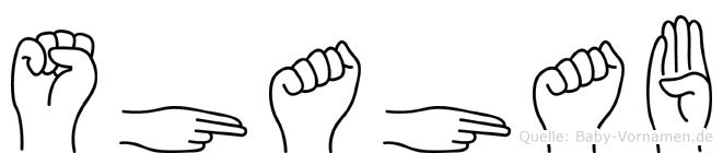 Shahab in Fingersprache für Gehörlose