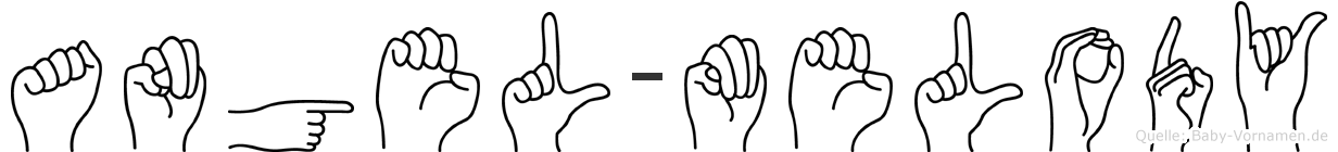 Angel-Melody im Fingeralphabet der Deutschen Gebärdensprache