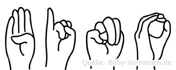Bino in Fingersprache für Gehörlose