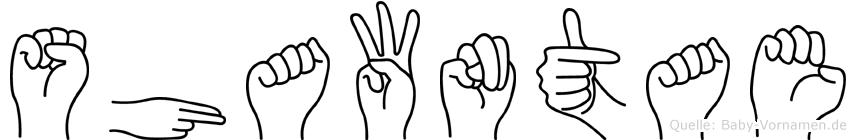 Shawntae in Fingersprache für Gehörlose