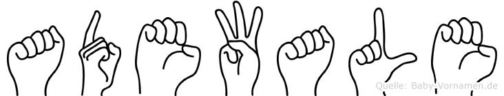 Adewale in Fingersprache f�r Geh�rlose
