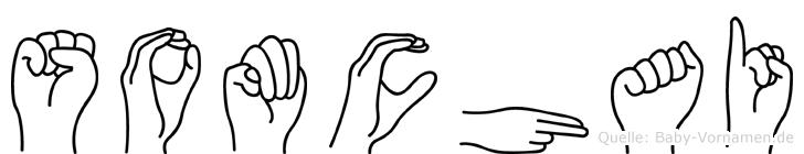 Somchai im Fingeralphabet der Deutschen Gebärdensprache