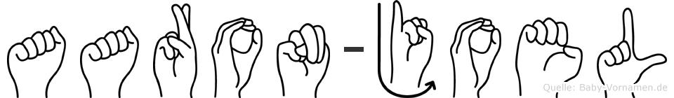 Aaron-Joel im Fingeralphabet der Deutschen Gebärdensprache