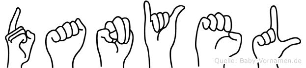 Danyel in Fingersprache für Gehörlose