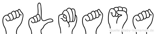 Almasa in Fingersprache für Gehörlose