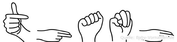 Thanh in Fingersprache für Gehörlose