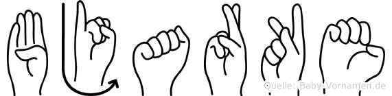 Bjarke in Fingersprache für Gehörlose