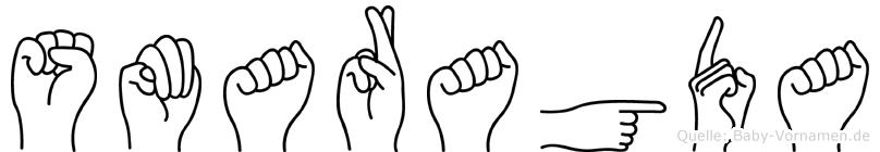 Smaragda in Fingersprache für Gehörlose