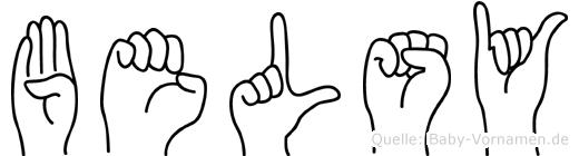 Belsy in Fingersprache für Gehörlose