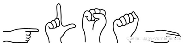 Gülsah in Fingersprache für Gehörlose