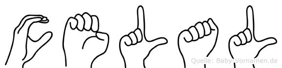 Celal in Fingersprache für Gehörlose