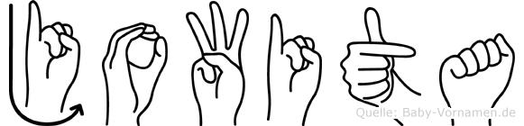 Jowita in Fingersprache für Gehörlose