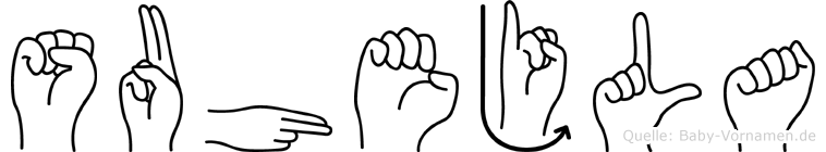 Suhejla in Fingersprache für Gehörlose