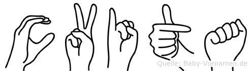 Cvita in Fingersprache für Gehörlose