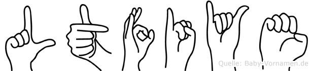 Lütfiye in Fingersprache für Gehörlose