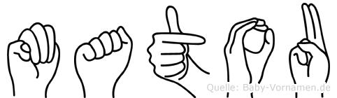 Matou in Fingersprache für Gehörlose