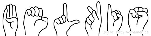 Belkis in Fingersprache für Gehörlose