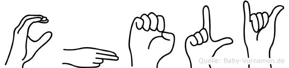 Chely in Fingersprache für Gehörlose