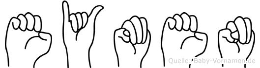 Eymen in Fingersprache für Gehörlose