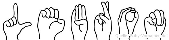 LeBron in Fingersprache für Gehörlose