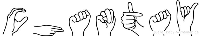 Chantay in Fingersprache für Gehörlose