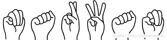 Marwan in Fingersprache für Gehörlose