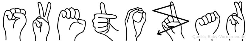 Svetozar im Fingeralphabet der Deutschen Gebärdensprache