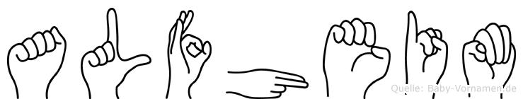 Alfheim in Fingersprache für Gehörlose