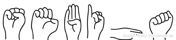 Sebiha in Fingersprache für Gehörlose