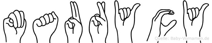 Maurycy in Fingersprache für Gehörlose