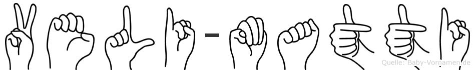 Veli-Matti im Fingeralphabet der Deutschen Gebärdensprache