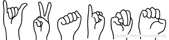 Yvaine in Fingersprache für Gehörlose