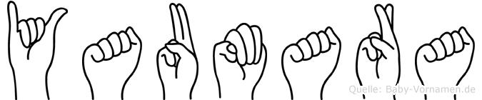 Yaumara in Fingersprache für Gehörlose