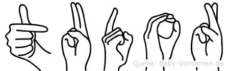 Tudor in Fingersprache für Gehörlose