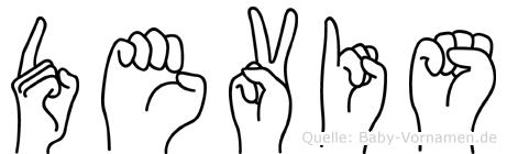 Devis in Fingersprache für Gehörlose