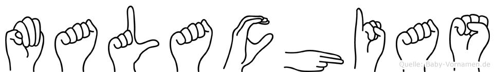 Malachias in Fingersprache für Gehörlose